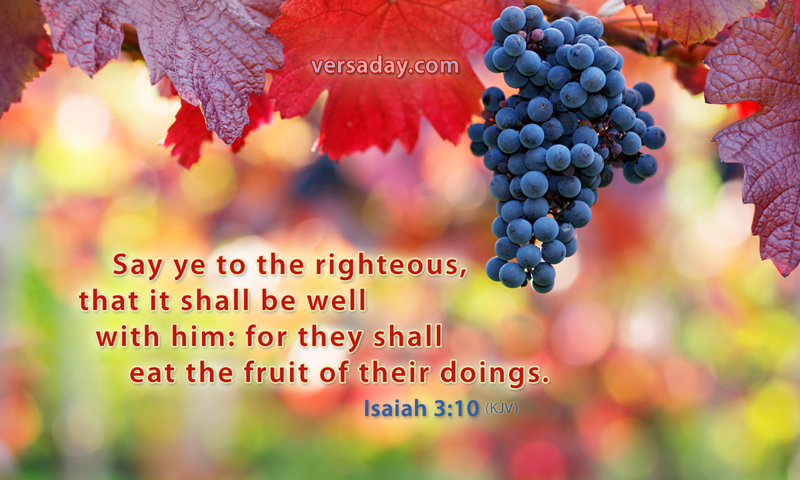 Image result for Isaiah 3:10