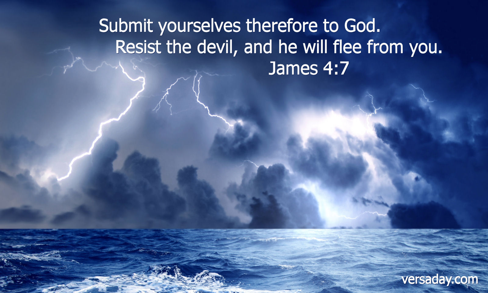James 4:7 - Verse for May 15